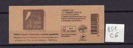 Carnet Marianne De CIAPPA Lettre Prioritaire N° 851 C6 - Carnets