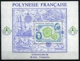 Polynésie Française - Bloc-Feuillet - 1986 - Yvert N° BF 12 ** - Blocks & Kleinbögen