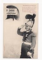 CPA BERGERET NANCY -   STE BARBE Patronne Des POMPIERS - Professions Et Patrons - - Bergeret