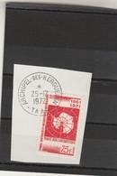 TAAF Yvert 39 Oblitéré Sur Fragment ( 1 )  Archipel Des Kerguelen 25/12/1972 - Traité Antarctique - Terres Australes Et Antarctiques Françaises (TAAF)