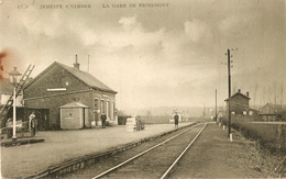Jemeppe S/Sambre La Gare De Froidmont (coin Inférieur Droit Plié) - Jemeppe-sur-Sambre