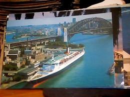 AUSTRALIA SYDNEY  HARBOUR  NAVE SHIP  CRUISER CUWARD? S 1978 HK4562 - Sydney