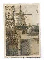 Lunteren, Walderveens Molen, Origineel Fotootje  (geen Prentbriefkaart) (6 X 9 Cm) - Paesi Bassi