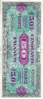 Billet Banque 50 Francs 1944 - 1871-1952 Gedurende De XXste In Omloop