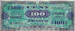 Billet Banque 100 Francs 1944 - 1871-1952 Antichi Franchi Circolanti Nel XX Secolo