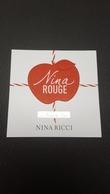 """""""Nina Rouge"""" Les Belles De Nina - NINA RICCI - Modernes (à Partir De 1961)"""