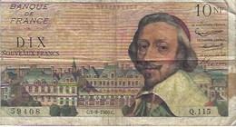 Billet Banque Richelieu 1960 - 1959-1966 Francos Nuevos