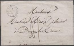 Précursseurs Du 05/01/1842  De Notre Dame De Liesse (Aisne) Taxe 5 + Cachet 16 - Poststempel (Briefe)