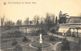 Thieu NA5: Ecole Apostolique St Clément. - Le Roeulx