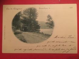 Arrière Du Train à Gérardmer Pour Le Tour Du Lac De Longemer Vers 1900  Imp. A Bergeret Et Cie Nancy - Gerardmer