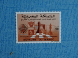 ECHECS - Timbre Neuf Xx N° 1065 De ROYAUME DU MAROC - Chess