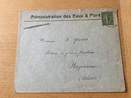 SCH2451 France 1920 Lettre De Sarrebourg Pour Haguenau - France