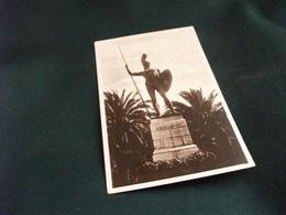 STATUA MONUMENTO COUFOU PALAIS D'ACHILLEION  STATUA D'ACHILLE  GRECIA - Sculture