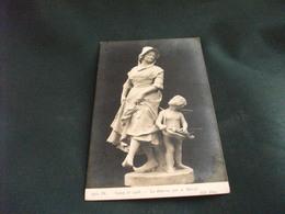 STATUA MONUMENTO LA BOURREE PAR A. MERCIE SALON 1908 - Sculture