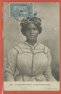 GUADELOUPE CARTE POSTALE TIMBREE DE 1915 DE BASSE TERRE - Guadeloupe (1884-1947)