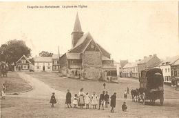 Chapelle-lez-Herlaimont La Place De L'église (malle Poste) - Chapelle-lez-Herlaimont