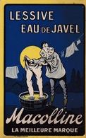 PUBLICITE -  LESSIVE EAU DE JAVEL MACOLLINE (Pierrot)  La Meilleurs Marque - Publicité
