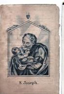 """Anna Elisabeth Peeters Echtg Gaspar Peeters °1751+1839 Wolfsdonk """"....in Het Vijftigste Jaar Echtgenote Van .. """"S.Joseph - Esquela"""