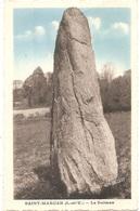 """Dépt 35 - SAINT-MARCAN - Le Dolmen - (Éditeur : """"Lucien"""") - MENHIR - Autres Communes"""