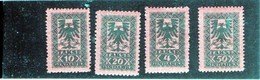CG5 - 1922 Albania - Stemma - Albania