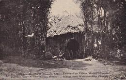 EST AFRICAIN ALLEMAND - DUITSCH OOST AFRIKA, Occupation Belge-Belgische Bezetting,Entree D'un Village Watuzi ( Ruande ), - Belgisch-Kongo - Sonstige