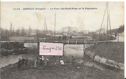 ANOULD Le Pont Des Neuf - Prés Et La Papeterie - Anould