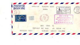Lettre Premier Vol Lufthansa Paris Stuttgart - Concorde