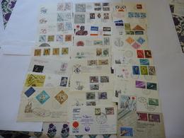 Lot Collection De 90 Lettres Et 6 BLOCS JEUX OLYMPIQUES TOKYO 1964 - Sommer 1964: Tokio