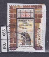 ITALIA REPUBBLICA    2017Museo Della Liberazione Usato - 6. 1946-.. República