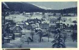 """SUDETEN CSSR 1943 Spindelmühle Riesengebirge = Spindleruv Mlyn Slezsko """" Ort Im Schnee """" Frank.Bedarf > Berlin - Sudeten"""