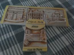 Lot De 4 Fèves Vues De Paris L'épi De Marly - Santons/Fèves