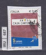 ITALIA REPUBBLICA    2018ANAS Usato - 6. 1946-.. República