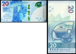 Hong Kong - 20 Dollars 2020 BOC UNC Lemberg-Zp - Hong Kong