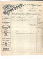 Haute Garonne 31 Toulouse Raymond BAROUSSE Epicerie En Gros Farine De Cocotier 1905 12 Rue Baronie - 1900 – 1949