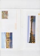 FRANCE 5 Enveloppes PAP Prêt à Poster N°YT 3385 Avec 5 Cartes Illustrées Pau Chemins De St Jacques De Compostelle - 2005 - Listos A Ser Enviados: Otros (1995-...)