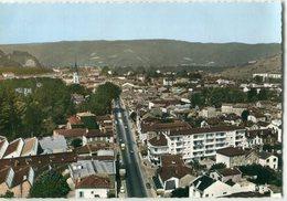 26 - Tain : Vue Générale Aérienne Du Centre Ville Et Nationale N° 7 - Autres Communes