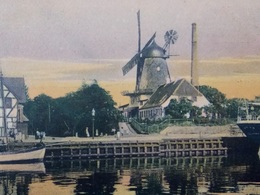 MOULIN A VENT - MOLEN - WINDMILL - WIND MILL - Denmark - 1907 FREDERICIA - Moulins à Vent
