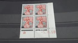 LOT 489051 TIMBRE DE FRANCE NEUF** LUXE COIN DATE - Coins Datés