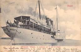 """Piroscafe """"Napoli"""" In Partenza Per Le Gite Di Capri 1919 - Transbordadores"""
