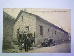 2020 - 3915  CHOCOLAT De BRETAGNE  :  Vue Extérieure De L'USINE  1914   XXX - Francia