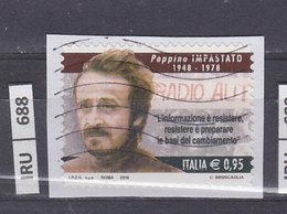 ITALIA REPUBBLICA    2018Peppino Impastato Usato - 6. 1946-.. República