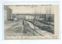 ECAUSSINNES - Souvenir De Marche Lez Ecaussinnes (Tartarie) - Le Moulin Champagne Et Le Pont De La Carrière Scoumanne - Ecaussinnes