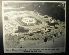 OOSTENDE Bloemen Uurwerk 1946 - Documenti Storici