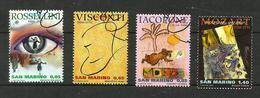 Saint-Marin N°2069 à 2072 - San Marino