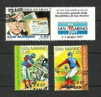 Saint-Marin N°2079, 2095, 2096 - San Marino