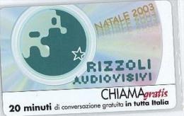 CHIAMAGRATIS NUOVA DT 812 RIZZOLI AUDIOVISIVI - Italië