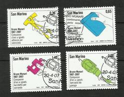 Saint-Marin N°2088 à 2091 - San Marino