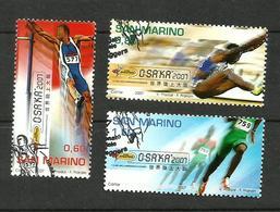 Saint-Marin N°2097 à 2099 - San Marino