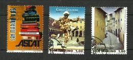 Saint-Marin N°2100, 2114, 2115 - San Marino