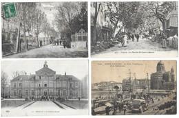 Lot De 400 Cartes Postales/France/Etranger/Fantaisies...Format CPA - Cartes Postales